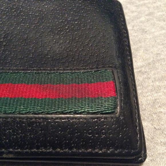 ecc8c5cd5742 Gucci Bags | Mens Authentic Black Leather Bifold Wallet | Poshmark